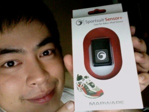 Yea for the Marware Sportsuit Sensor+!