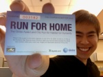 Run For Home ticket
