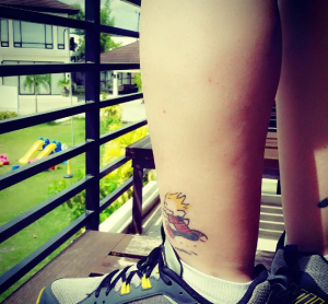 running_tattoo